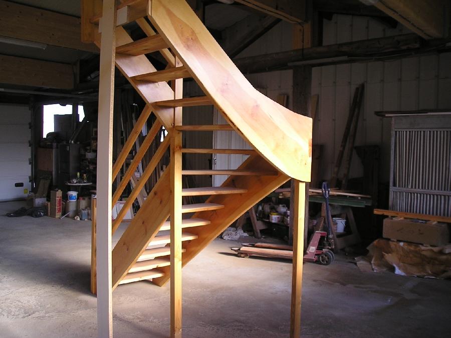 Escalier Quart Tournant Haut Droit